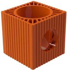 Вентилационен блок 180 със странични отвори
